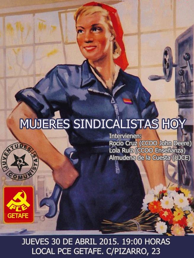 cartel mujeres sindicalistas calidad